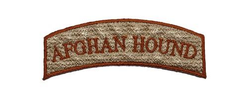 ロゴ刺繍ワッペン/アフガン