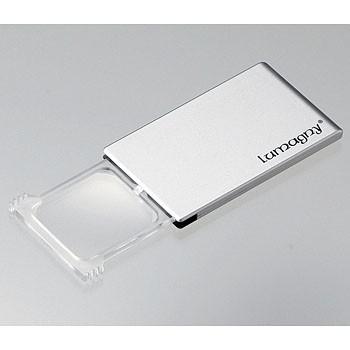 【正規販売店】ルーペ 9635 95mm×55mm レンズ39mm×45mm LED 倍率2倍 拡大鏡