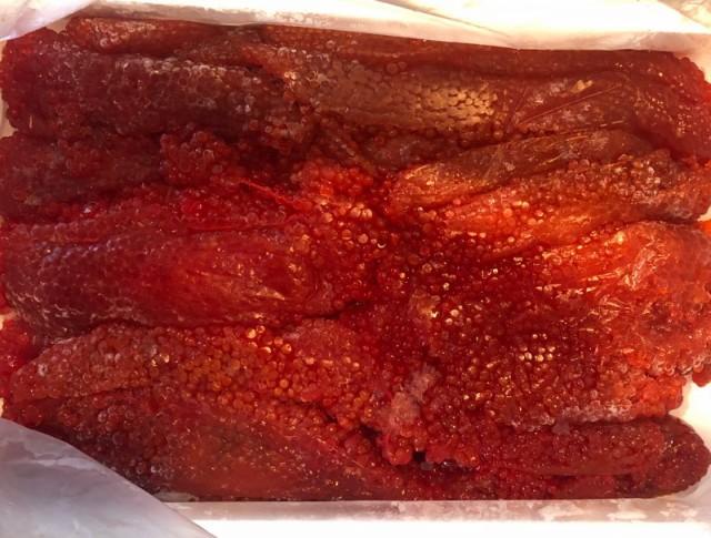 醤油漬け 筋子 紅子 2kg【熟成紅子】厳選素材の美味しさ【冷凍便】