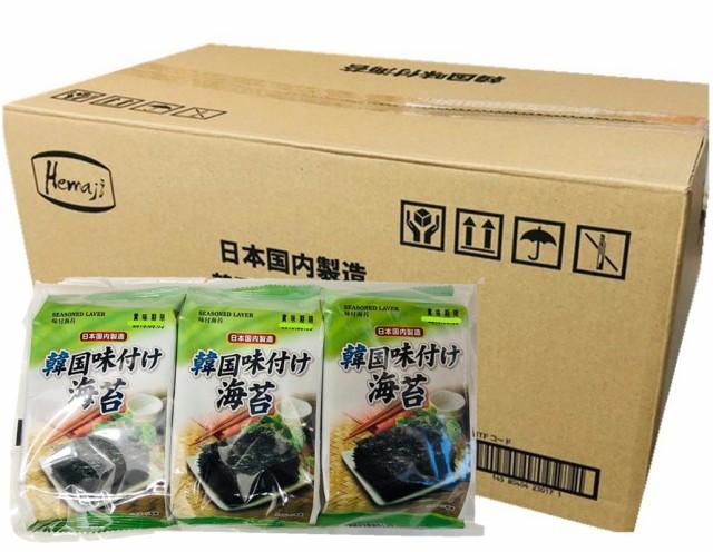 韓国のり 業務用 24袋72パック・1袋3パック入り【国内製造】クセになる味!