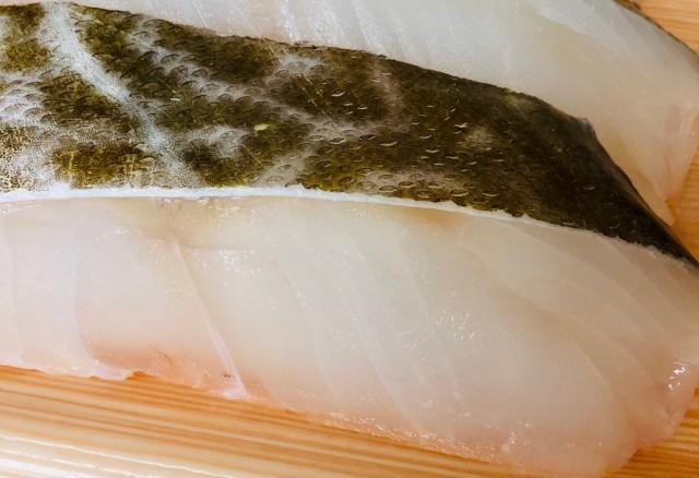 甘塩 たら 厚切り 1切80g前後【鍋・ムニエル・バター焼き・ホイル焼き・フライなどでご利用ください】(冷凍便)