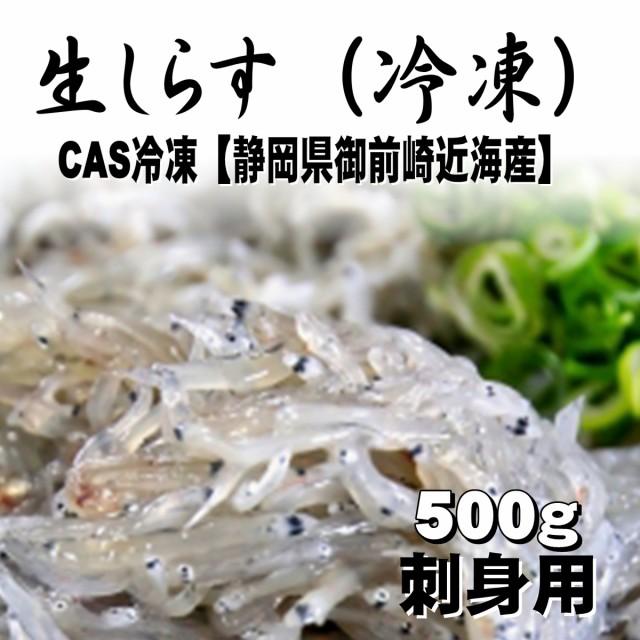 生しらす 500g(冷凍)CAS冷凍【静岡県御前崎近海産】刺身用【冷凍便】