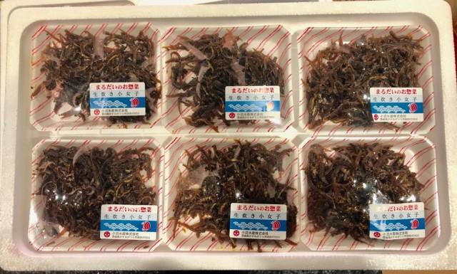佃煮 ・ 生炊き 小女子 100g×6パック【まるだいのお惣菜】(冷蔵便)