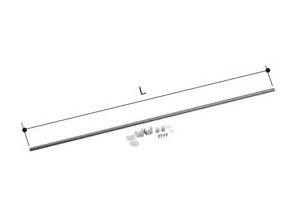 【LIXIL】洗面浴室用 ユニットバス 1624/1620/1618/1616 対応 ランドリーパイプ LAP-1582-W 物干し竿 長さ1575mm 室内干し 送料無料