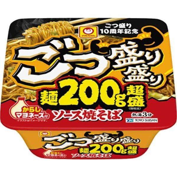 東洋水産 ごつ盛り盛り ソース焼そば 269g ×12個