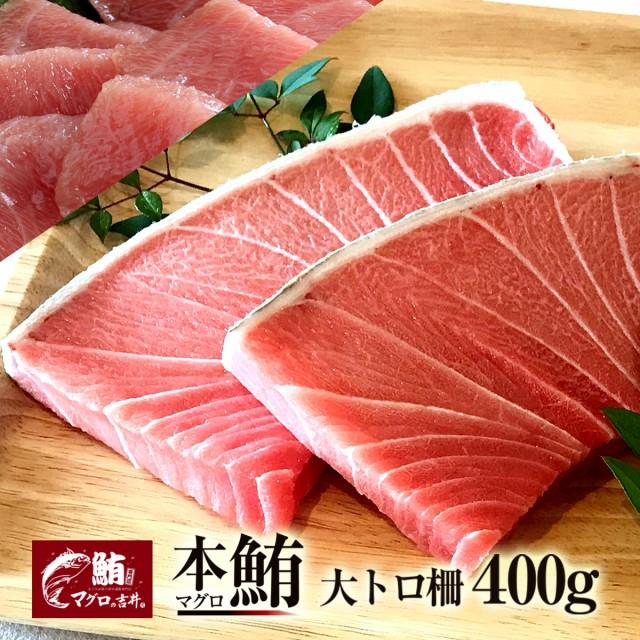 ギフト まぐろ マグロ 鮪 大トロ ブロック 400g 極上 の旨味が味わえます! 解凍レシピ付 プレゼント 刺身 美味しい 食べ物 海鮮丼 手巻