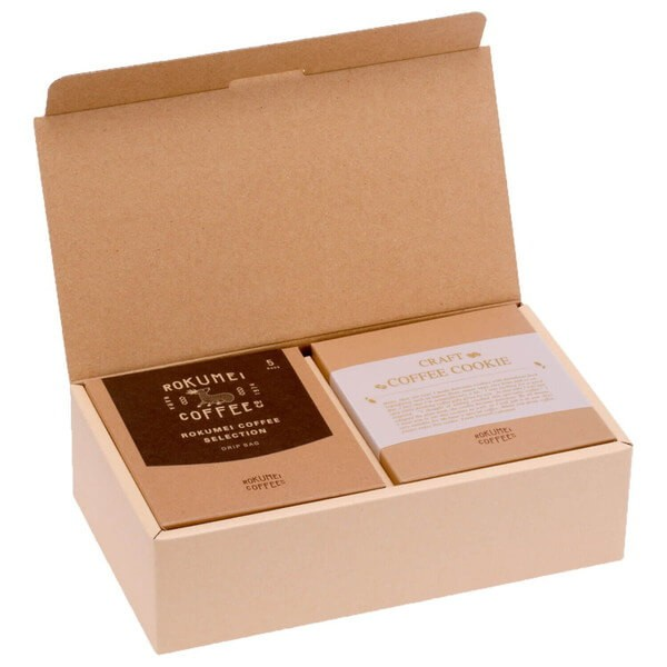 【 送料無料 】 コーヒーギフト ロクメイコーヒー ギフト クラフトコーヒークッキー ドリップバッグ 5種