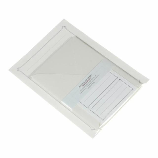 レターセット 洋2封筒 アイボリー Bouquinist シンプル 公式通販サイト