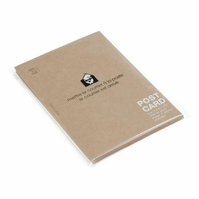 ポストカード 無地 40枚 クラフト BASIS シンプル 公式通販サイト