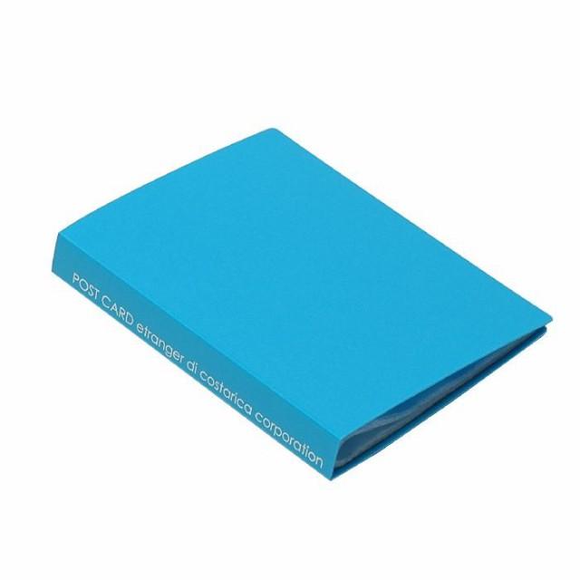 ポストカードホルダー 30ポケット スカイ SOLID クリアファイル 収納 シンプル 公式通販サイト