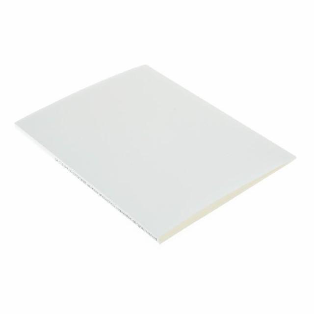 B4クリアファイル 20ポケット ホワイト SOLID シンプル プレゼン資料 公式通販サイト