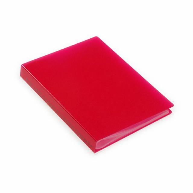 ポストカードホルダー 30ポケット レッド TRP クリアファイル 収納 シンプル 公式通販サイト