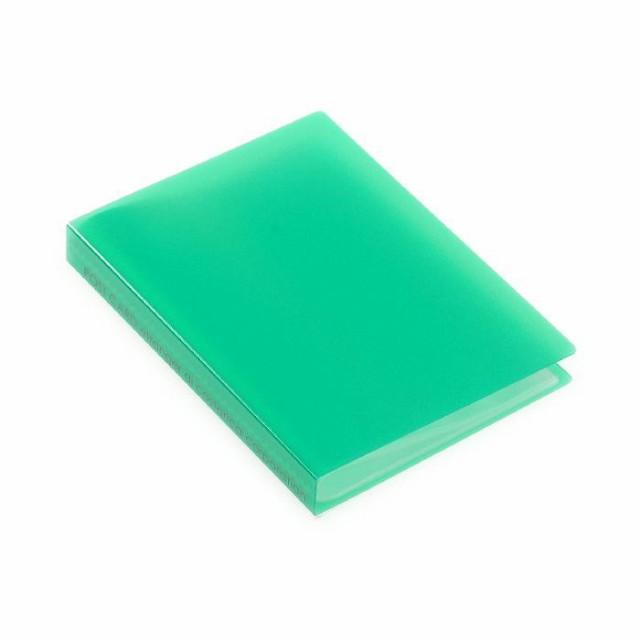 ポストカードホルダー 30ポケット グリーン TRP クリアファイル 収納 シンプル 公式通販サイト