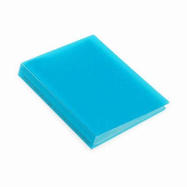 ポストカードホルダー 30ポケット Lブルー TRP クリアファイル 収納 シンプル 公式通販サイト