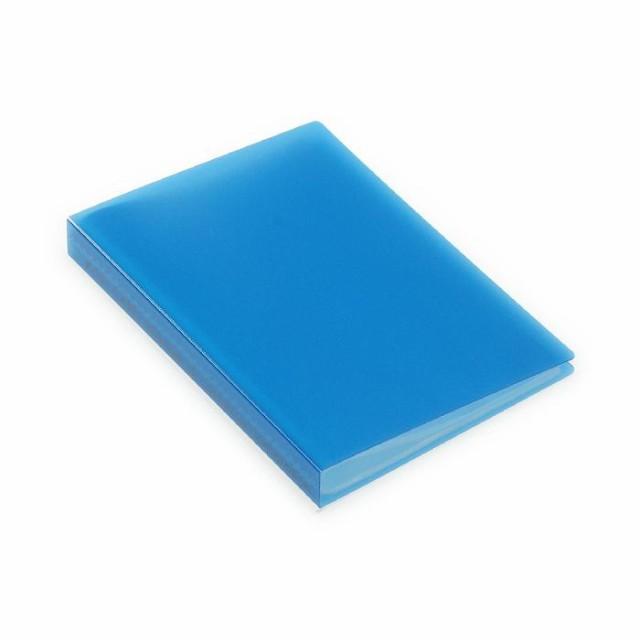 ポストカードホルダー 30ポケット ブルー TRP クリアファイル 収納 シンプル 公式通販サイト