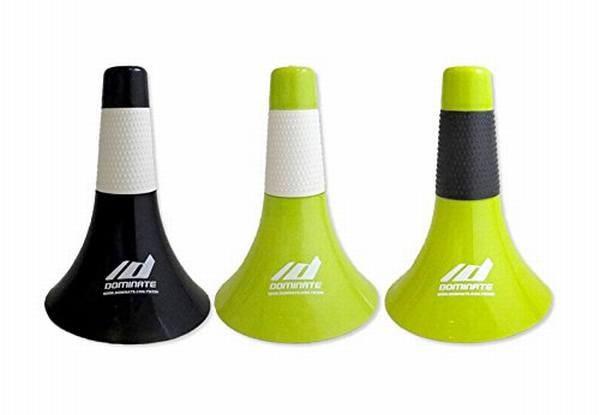 10個入り 黒色+白色グリップ バスケットボールコーン (Rip Cone) リップコーン