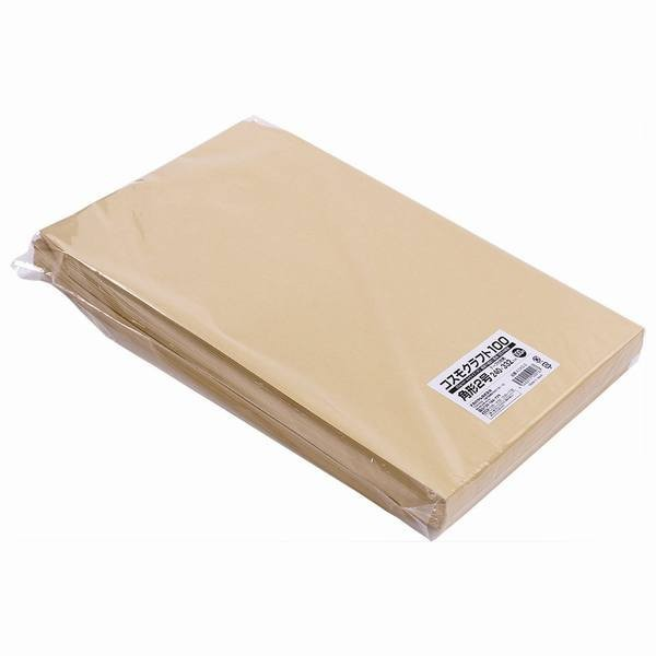 クラフト封筒 角形2号 A4サイズ(大) テープ付 100枚 KCKE-2