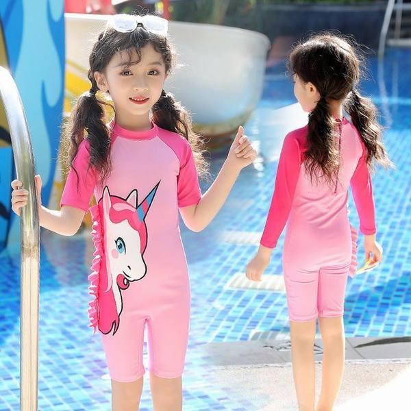 子供 水着 一 体型カバー ワンピース 水着 可愛い 紫外線カット水着 子供