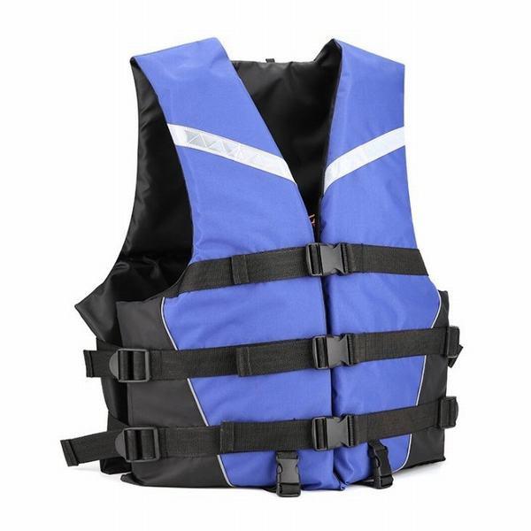 ライフジャケット フローティングベスト 笛付き 救命胴衣 フィッシングベストジュニア用 大人用 ライフウェア男女兼用