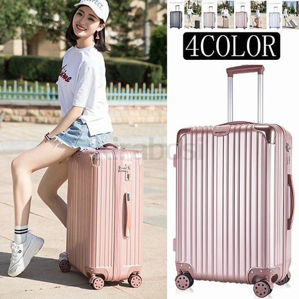 キャリーバッグ スーツケース ファスナー スーツケースキャリー キャリーケース 旅行かばん 修学旅行 研修 国内旅行 男女兼用 人気 中型