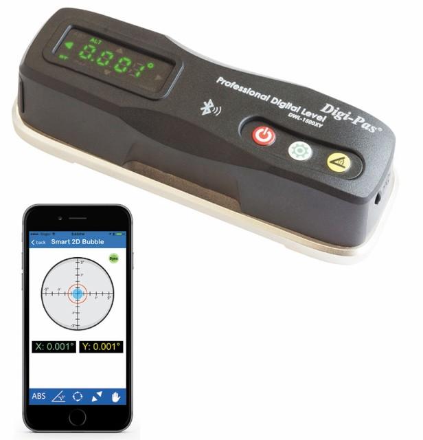 2軸精密デジタル平型水準器 DWL-1500XY アカツキ製作所 水平 垂直 勾配の測定 計測