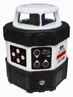 回転レーザーレベル 球面三脚付 STS-H600 受光器 リモコン 完全自動整準 測量