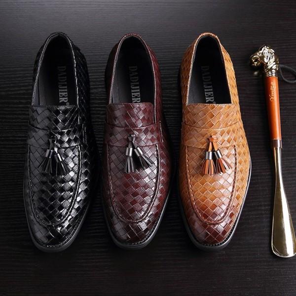 ビジネスシューズ 革靴 メンズ シューズ ハイカット 皮靴 レザーシューズ 紳士靴 通勤 男性 シークレットシューズ カジュアル