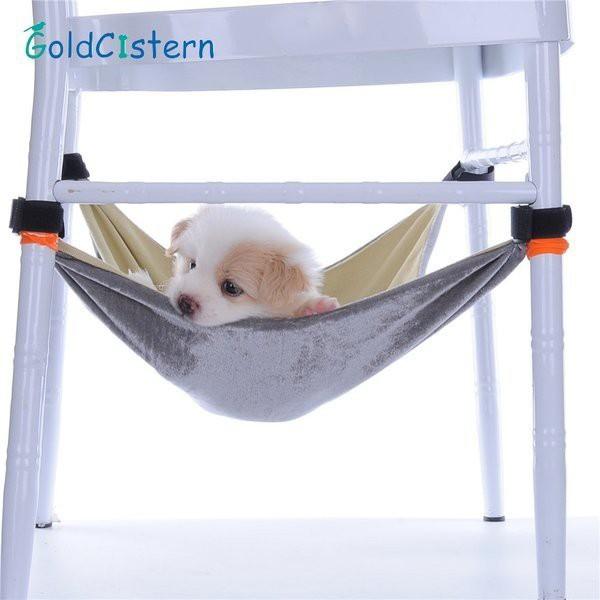 無地綿綿ネルベッド用椅子ケージ小さなペット動物スイングペット犬ハンモックリムーバブルぶら下げペット用品