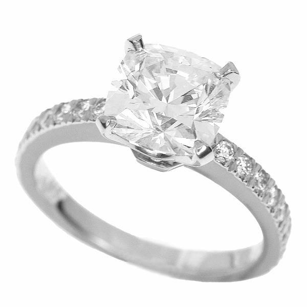 TIFFANY Co. ティファニー ダイヤモンド(1.58ct I-VS1) ノヴォ リング Pt950 プラチナ 約6号 #46 32991011