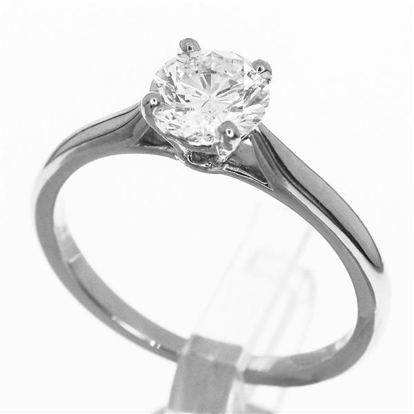 Cartier カルティエ ダイヤ(0.66ct G-VVS2) ソリテール 1895 リング Ref.N4163600 Pt950 プラチナ 日本サイズ約9号 #49 指輪 31360503