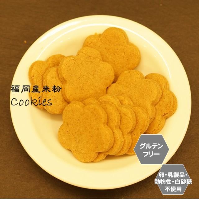 【送料無料】お買い得100個セット グルテンフリー ビーガン 米粉100% クッキー 小麦粉 卵 乳製品 動物性油 不使用 アレルギー対応 ヴィ