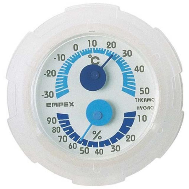 エンペックス(EMPEX) シュクレミニ温・湿度計 TM-2381(603178)