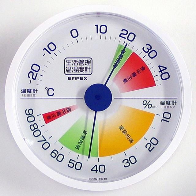 エンペックス(EMPEX) 生活管理 温湿度計 CX-1620(603199)