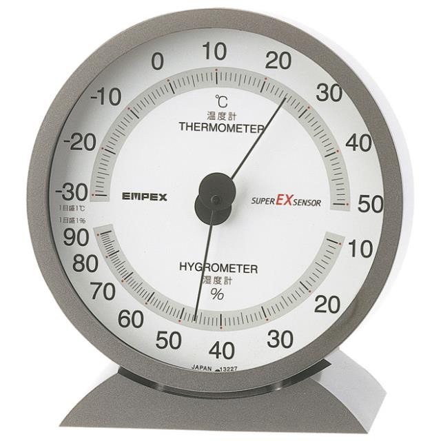 エンペックス(EMPEX) スーパーEX高品質温・湿度計 EX-2717(603222)