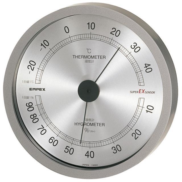 エンペックス(EMPEX) スーパーEX高品質温・湿度計 EX-2727(603224)