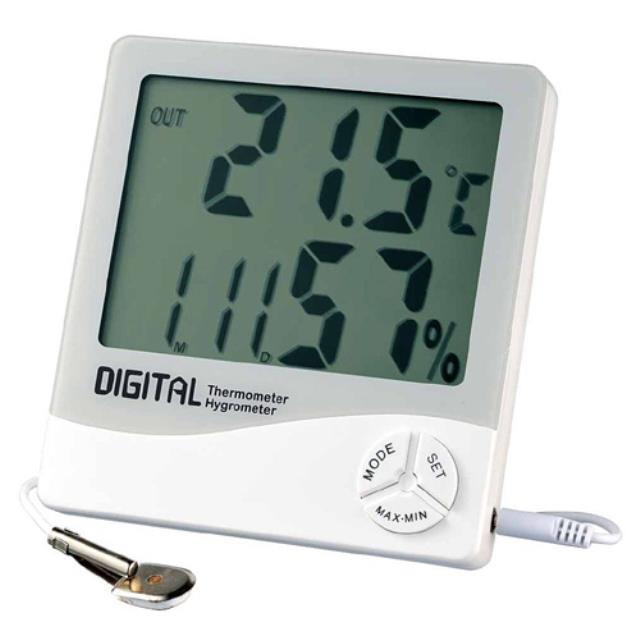 エンペックス (EMPEX) 温度計・湿度計 デカデジV ホワイト TD-8130(603301)