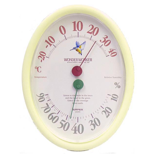エンペックス (EMPEX) ワンダーワーカー温湿度計 温度計・湿度計 壁掛型 TM-463(603304)