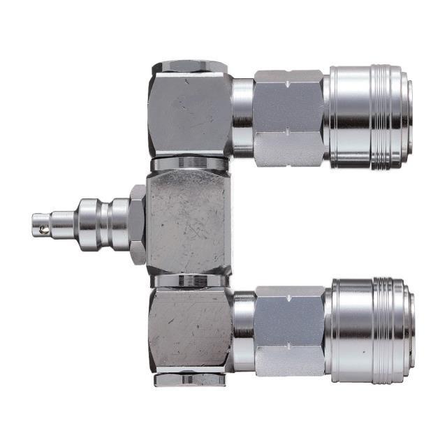 新潟精機 SK 高圧ロータリペアカプラ PC-202HP(610085)