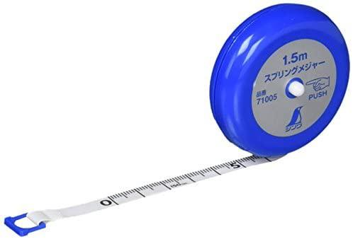スプリングメジャー 1.5m 71005