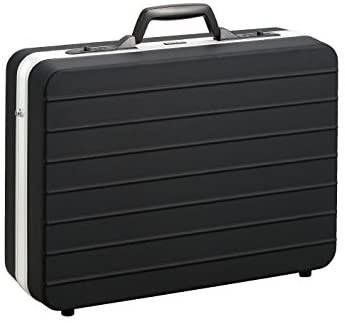 ホーザン(HOZAN) ツールケース アタッシュケース マットブラック仕上げ 軽量 A3対応 鍵付き 重量1.6kg 材質ABS B-675