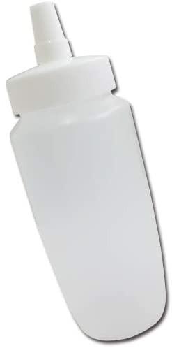 はちみつ容器360ml(ホワイトキャップ)│業務用ローションや調味料の小分けに詰め替え用ハチミツ容器(蜂蜜容器)はちみつボトル