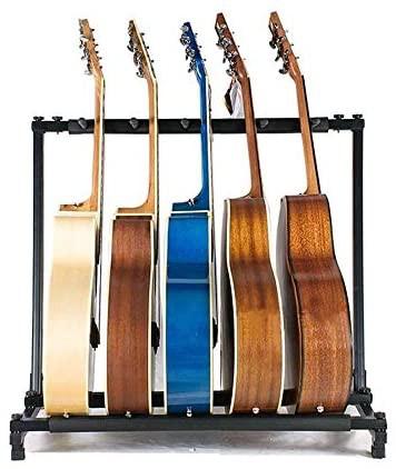 【Log Total】ギタースタンド ギター ベース スタンド 5本立て 3/5/7/9本 全4種類