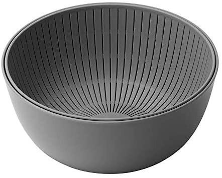 ライクイット ( like-it ) ざる ボウル Colander Bowl 米とぎにも使える ザルとボール ザル:Ф22.7×高10.4cm ボウル:Ф23.7×高10.7cm