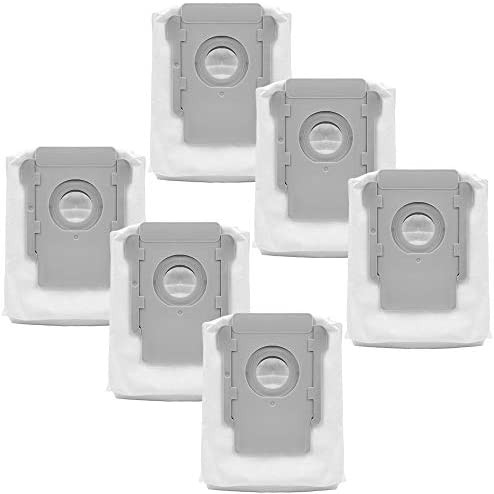 KEEPOW アイロボット ルンバi7+ s9+交換用紙パック iRobot Roomba i7+ s9+に対応 交換消耗品 ロボット掃除機用 交換アクセサリ(6セット