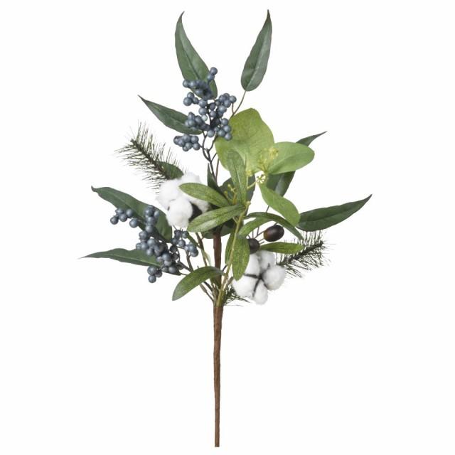 クリスマス Xmas asca ユーカリミックスブッシュ 自然素材使用 造花