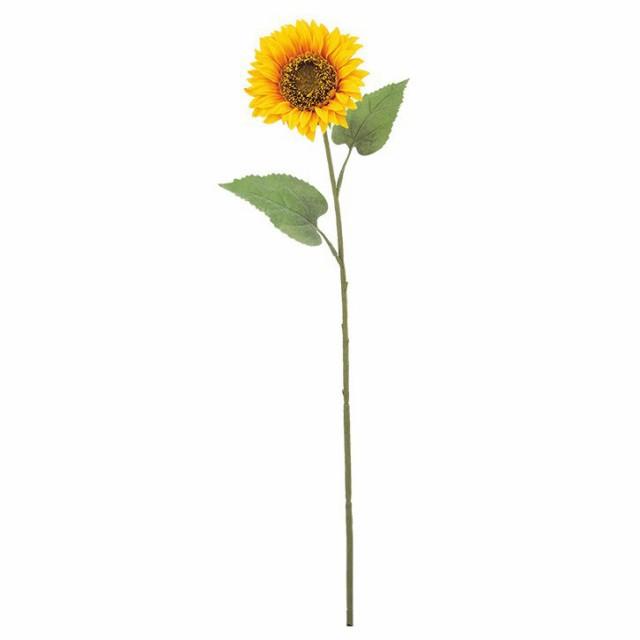 花材 造花 フレンチサンフラワースプレイ(S) スプレイ 【ひまわり 向日葵 夏 ディスプレイ 装飾 サマー】