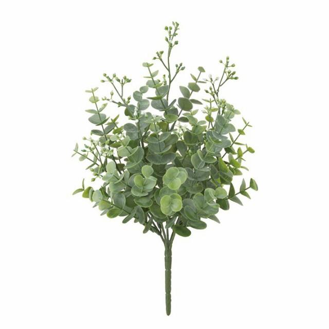 フロストミックスユーカリブッシュ×5(プラスチック) フロストグリーン フェイク グリーン 人工観葉植物 造花 光触媒 CT触媒[G-L]