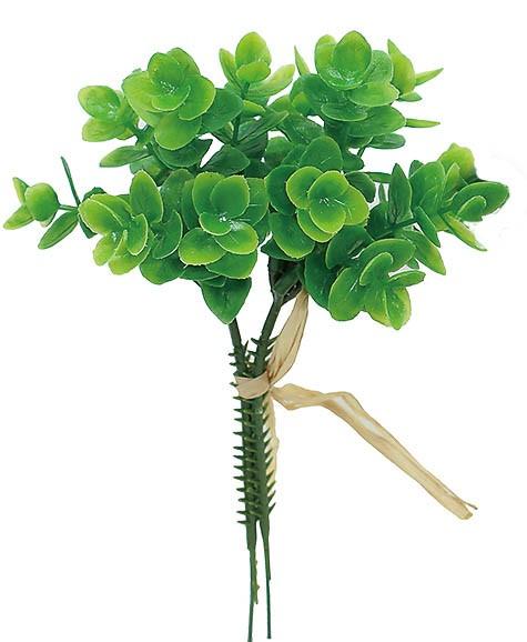 【12個から注文可能】ミニユーカリバンドルX2 GREEN(造花 花材 アートフラワー)