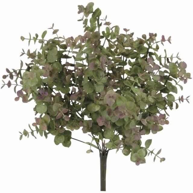 【観葉植物 造花】屋外対応 ユーカリ 38cm ブッシュ 【フェイクグリーン 人工観葉植物 光触媒 CT触媒 インテリア】