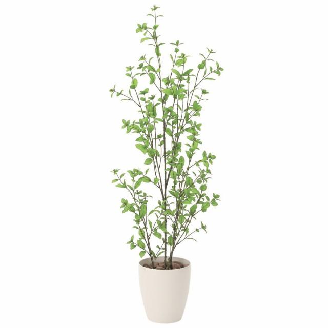 人工観葉植物 フェイクグリーン 観葉植物 造花 ユーカリ 130cm 鉢植 光触媒 インテリア おしゃれ フェイク グリーン